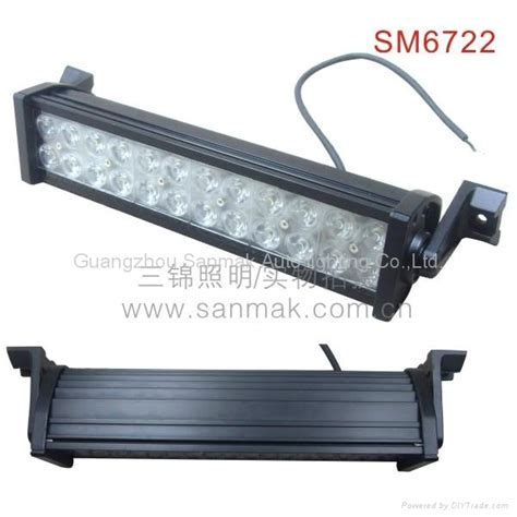 72w 14 quot truck vehicle led light bar sm6722 sanmak china