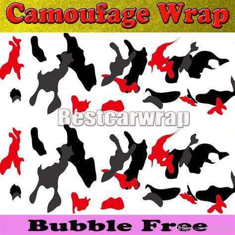 red white black arctic camo vinyl car wrap film  air rlease gloss matt snow camouflage