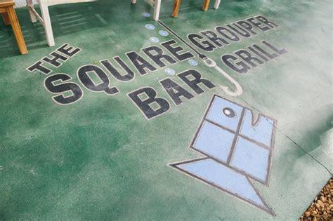 grouper square grill bar key