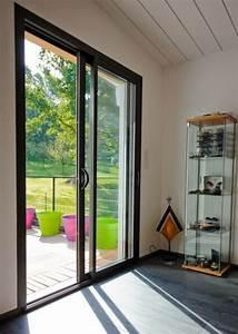 Porte A Galandage Double : fabricant de menuiseries alu installux c2m avignon ~ Premium-room.com Idées de Décoration