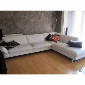 canape cuir blanc roche bobois digpres With roche et bobois canape cuir