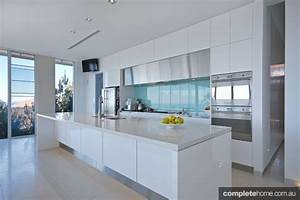 An innovative kitchen design with beautiful geometric ...