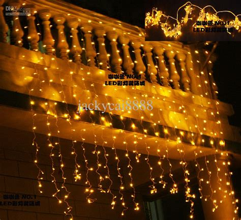 2017 led lights curtain lights christmas decoration garden