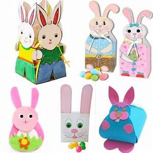 Bricolage De Paques : bricolage lapin de p ques ~ Melissatoandfro.com Idées de Décoration