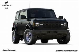 Here Are The 2021 Ford Bronco Trim Packages