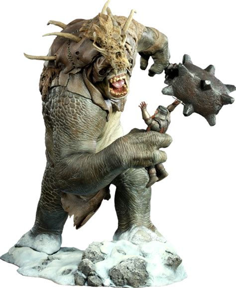The Lord of the Rings Snow Troll Polystone Statue by ...