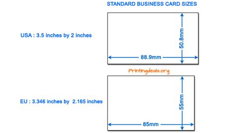 business card size dafafad