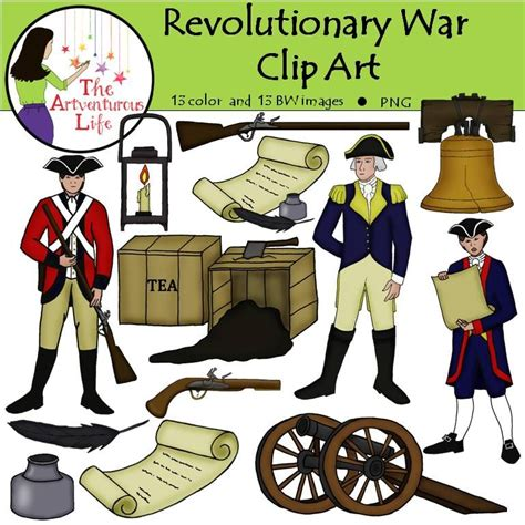 War Clipart Revolutionary War Clip Secondary Social Studies