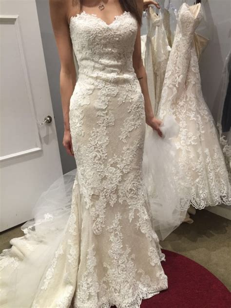 Pronovias Princia Size 4 Wedding Dress ? OnceWed.com