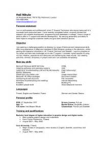 telecommunication technician resume sles pdf telecommunications technician resume sle