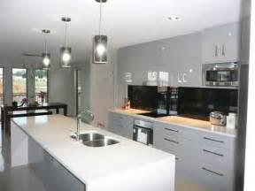 galley kitchen island galley kitchens brisbane custom cabinets renovation specialists
