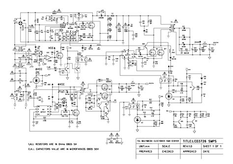 Wiring Diagram For Dell Power Supply Free by Tcl Lcd3726 Smps Power Supply Service Manual