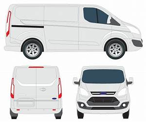 Transit Custom Tourneo Vector Image | 123Freevectors