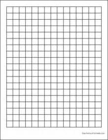 printable algebra tiles template free graph paper 2 squares per inch heavy black from