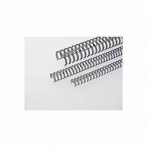 Renz Drahtbinderücken 34 Schlaufen schwarz 12,7mm 3:1 100 St