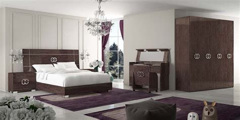 pride classic modern italian bedroom set