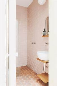 rethinking pink 9 bathrooms in blush tones remodelista With bathroom yiles