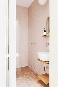 pink bathroom tile Rethinking Pink: 9 Bathrooms in Blush Tones: Remodelista