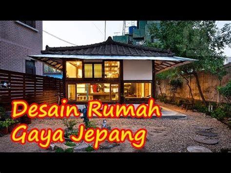 desain rumah gaya jepang modern minimalis  tradisional