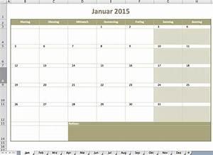 Kalendar excel vorlagen fur jeden zweck for Monatskalender 2015 ausdrucken