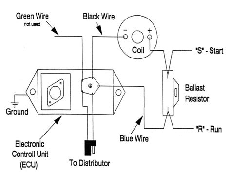 Electronic Ignition Wiring Diagram For Mopar