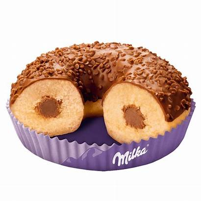 Milka Donuts Chocolate Topping Wrapping