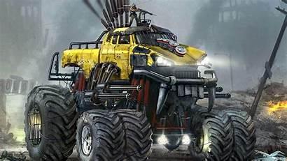 Monster Truck Trucks Wallpapers Jam Cool Bigfoot