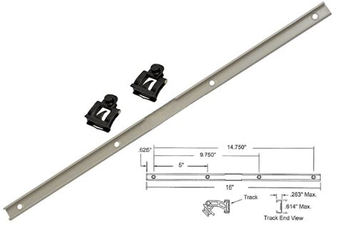 truth hardware   maxim awning window operator track