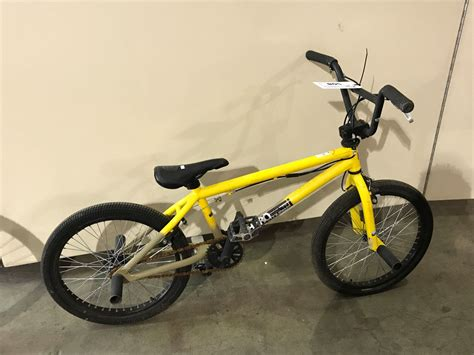 Yellow Haro Bmx Bike & Purple Raleigh Front