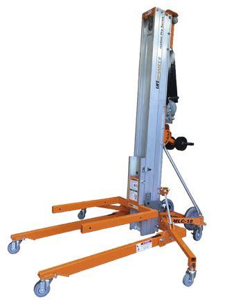 liftsmart mlc  material lift hoist duct lifter