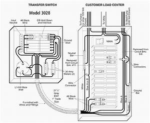 Manual Transfer Switch Wiring Diagram Collection