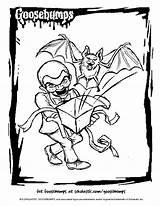 Goosebumps Coloring Slappy Theater Drawing Movie Books Getcolorings Scholastic Colorir Criancas Getdrawings Halloween Livros Paginas Pintura Lego Atividades sketch template