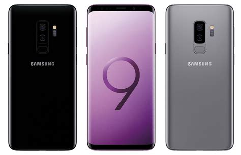 leaked samsung galaxy s9 renders show rumored design again new color options