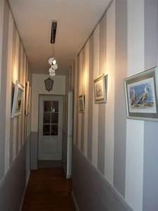 idee deco couloir peinture inspirations et chambre enfant With idee deco couloir long