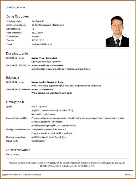 How To Write Your Resume by How To Write Your Resume Lease Template