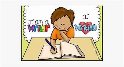 Writing Clipart Child Clip Transparent Write Cliparts
