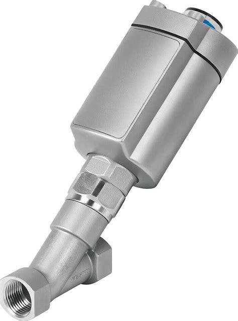 Angle seat valves VZXA | Festo Great Britain