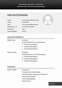 Lebenslauf Online Bewerbung : lebenslauf muster vorlagen f r die bewerbung 2019 ~ Orissabook.com Haus und Dekorationen