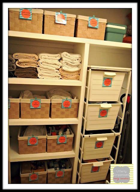 Linen Cupboard Organisation by 284 Best Home Linen Closet Images On