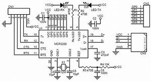 usb to uart converter using mcp2200 circuit ideas i With diagram nintendo 64 controller cnc circuit board schematic diagram