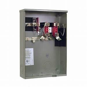 Milbank 200 Amp Ringless Underground Meter Socket-r2986-o-pep