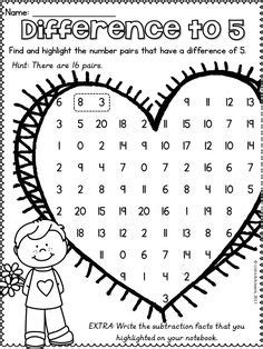 valentines day math activities images math