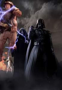 Darth Sidious and Darth Vader