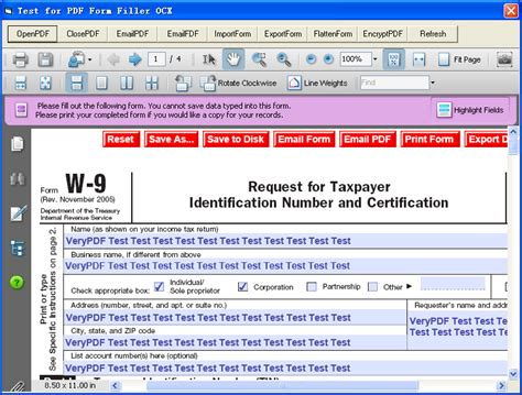 royalty free pdf form filler ocx activex for pdf form filling fill and flatten pdf forms