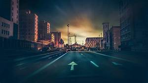 Free, Photo, Dark, Street, -, Colors, Dark, Evening, -, Free, Download