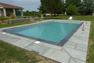 Massif Autour Piscine : am nagement paysager gabions dallage autour piscine ossun 65 leblanc ~ Farleysfitness.com Idées de Décoration