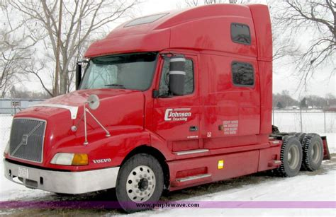 volvo  semi truck item  sold january