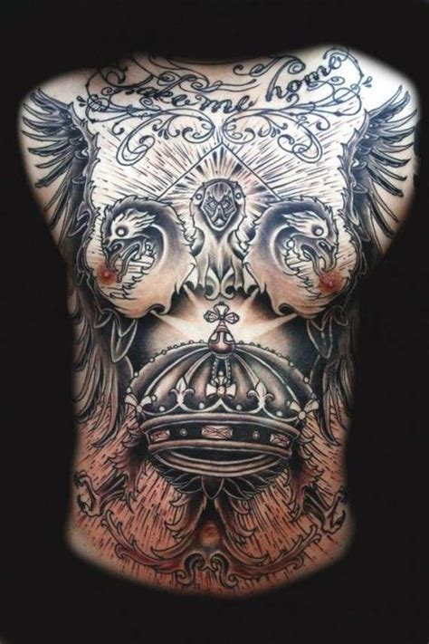 unbeatable chest tattoos  men