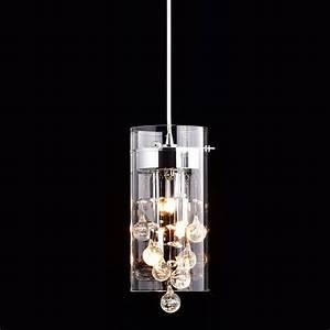 Claxy ecopower lighting glass crystal pendant