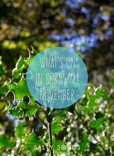 whats   cornwall november  cornish activities